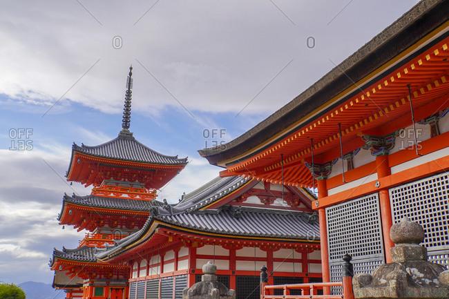 Otowa-san Kiyomizu-dera Buddhist temple, Kyoto, Japan
