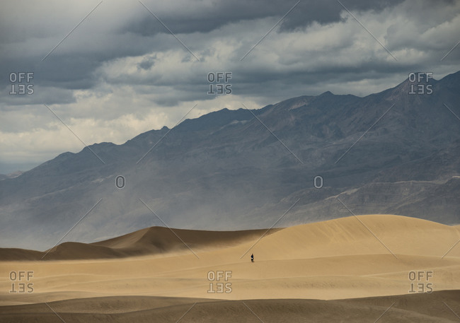 The Vast Deserts and Formations of Death Valley National Park in