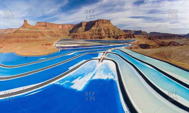 A Potash Mining Operation in Canyonlands National Park