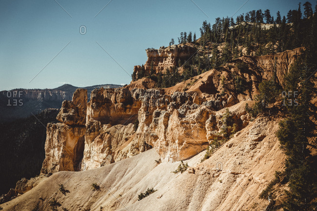Detail of Bryce Canyon from Bryce Point