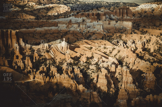 Fairyland Loop Trail in Bryce Canyon