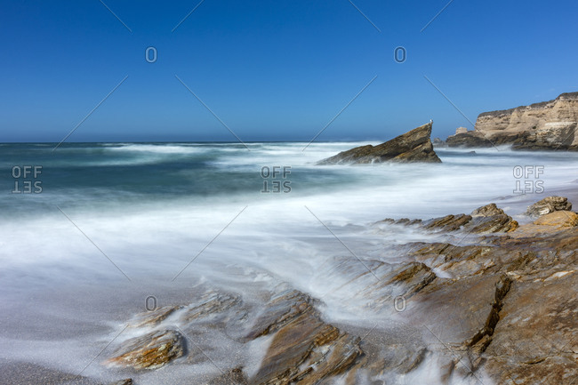USA, California, San Luis Obispo, Sea coast