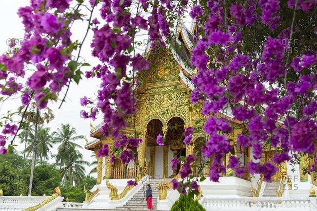Luang Prabang, Laos - November 25, 2014: The Royal Palace in Luang Prabang, Laos