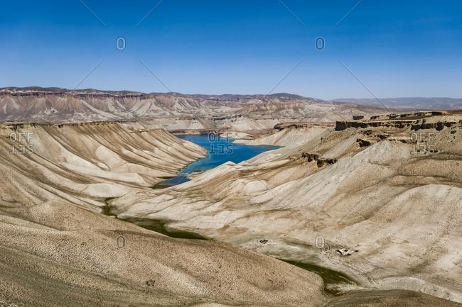 Band-e Amir, Bamiyan province, Afghanistan