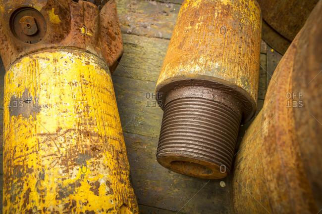Stavanger norway oil rig pipes