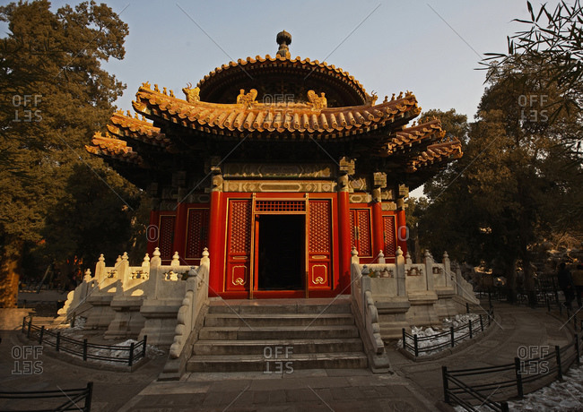 A small temple inside the forbidden city