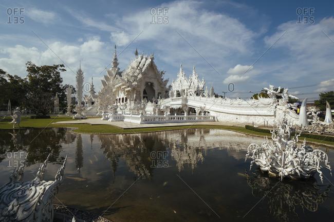 January 1, 1970: Wat Rong Khun temple, Chiang Rai, Thailand