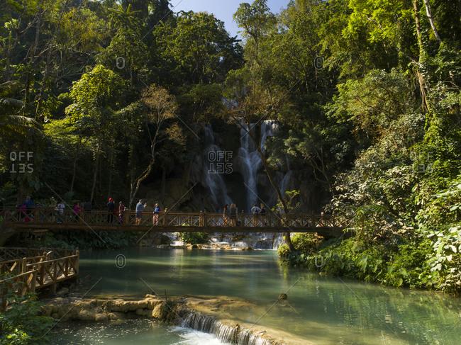 January 1, 1970: Kuang Si Falls, Luang Prabang, Laos