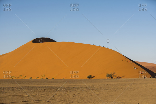 The largest dunes in the world, Sossusvlei, Namibia, Africa