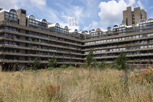 Barbican, London's largest housing estate, City of London, London