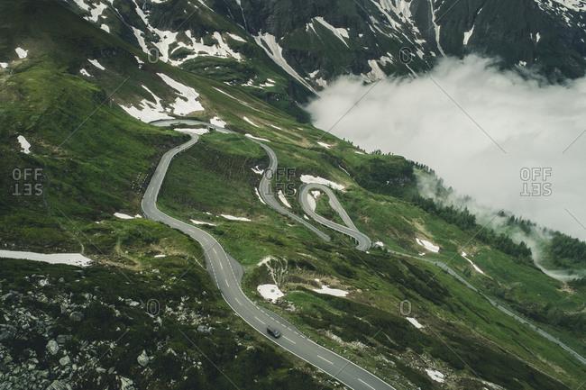 High Alpine Road Grossglockner, Austria