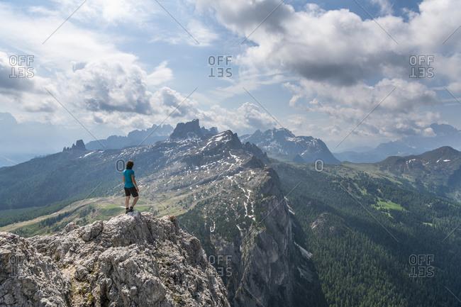 View of Monte Averau, Dolomites, Italy
