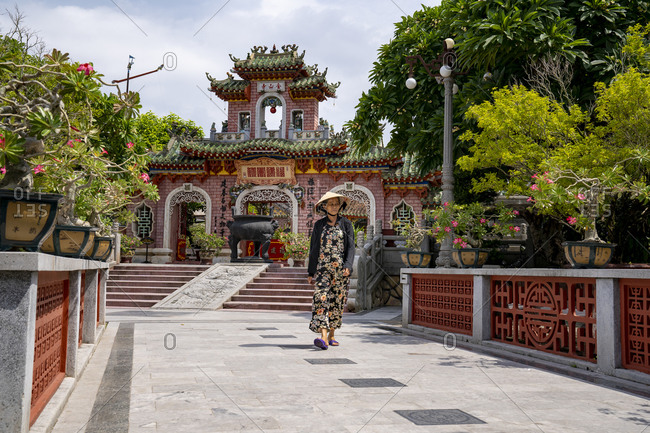 Famous attractions in the city of Hoi An, Vietnam