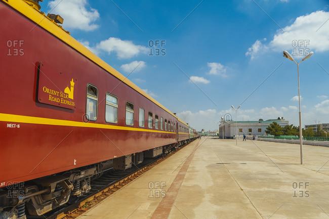 April 11, 2019: Orient Silk Road Express special train Silk Road