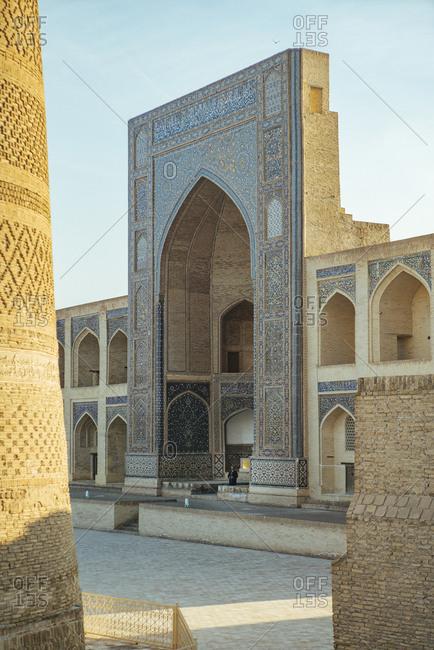 April 13, 2019: Bukhara (Bukhara), Uzbekistan on the Silk Road