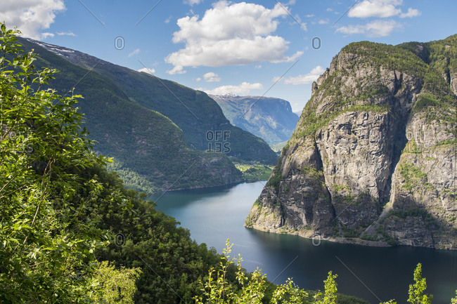 Aurlandsfjellet countryside route, Norway