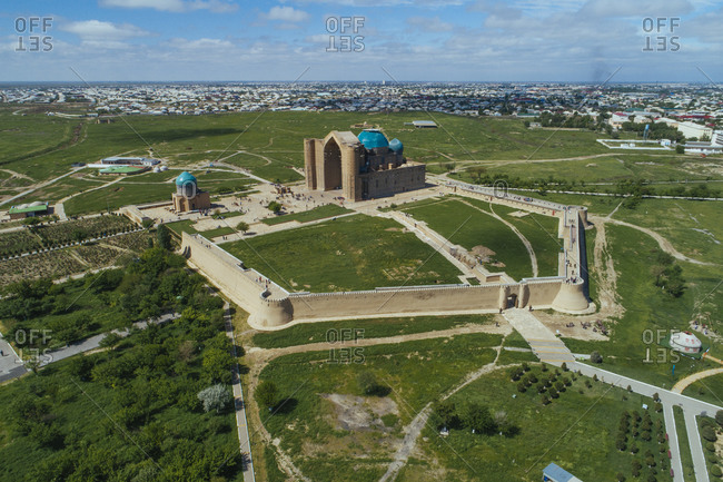 Türkistan, Kazakhstan, Mausoleum of Hodja Ahmad Yasawi