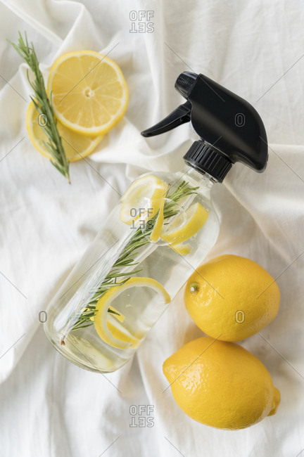 Homemade natural cleaning spray