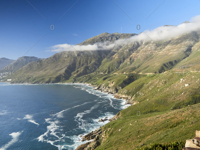 Chapman's Peak Drive over Hout Bay- Western Cape- South Africa