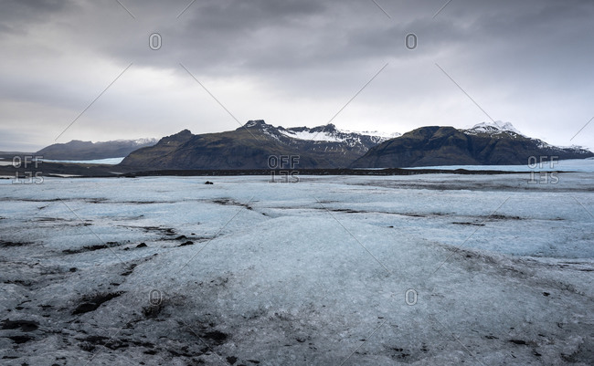 Scenic view of landscape in Jokulsarlon- Iceland
