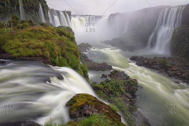 Devil's Throat waterfall- Iguazu Falls- Iguazu National Park- Parana- Brazil