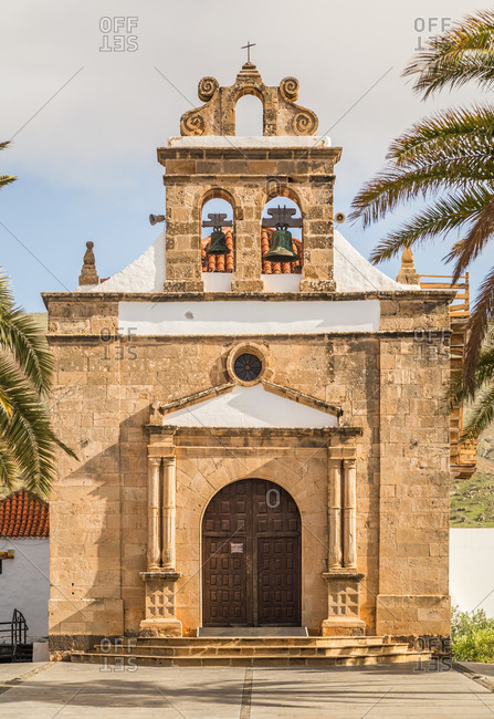 Church of Nuestra Senora de la Pena in Vega de Rio Palmas, Fuerteventura.