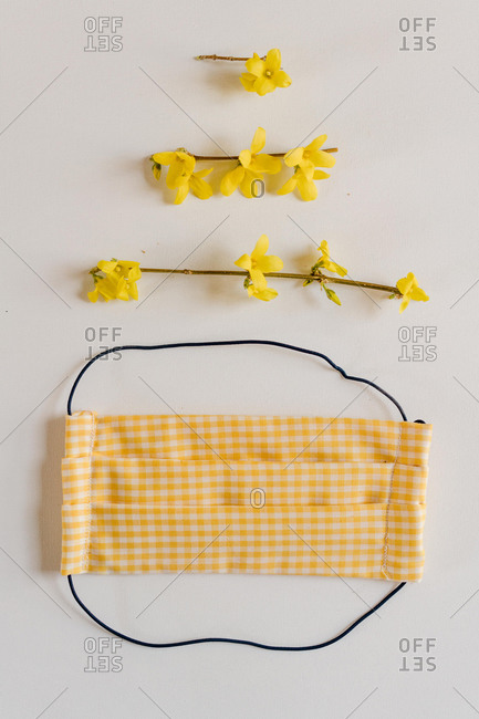 Home-made cloth face mask for protection