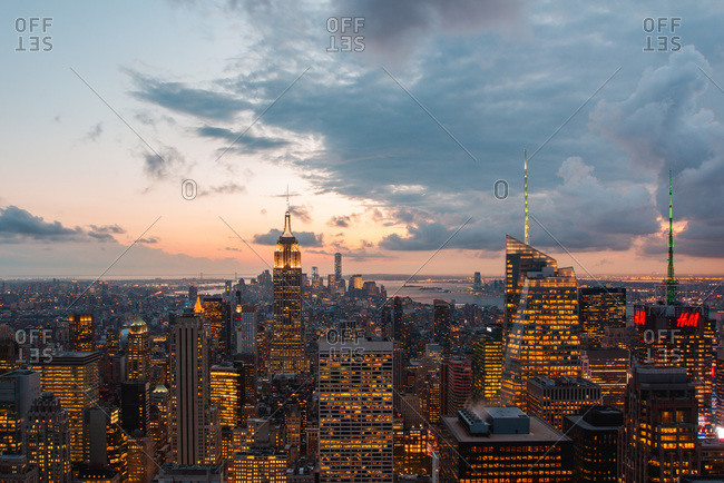 View of New York cityscape