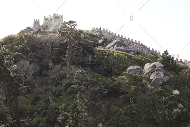 Castelo dos Mouros in Sintra, Portugal (Castle of the Moors)