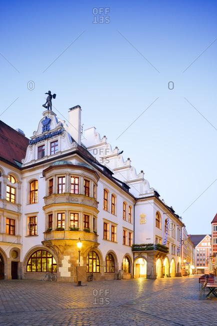 July 1, 2015:  - July 1, 2015: Germany- Bavaria- Munich- Old town- Hofbraeuhaus beer hall at Platzl