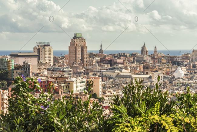 October 22, 2016:  - October 22, 2016: Italy- Genoa- cityscape as seen from Corso Firenze