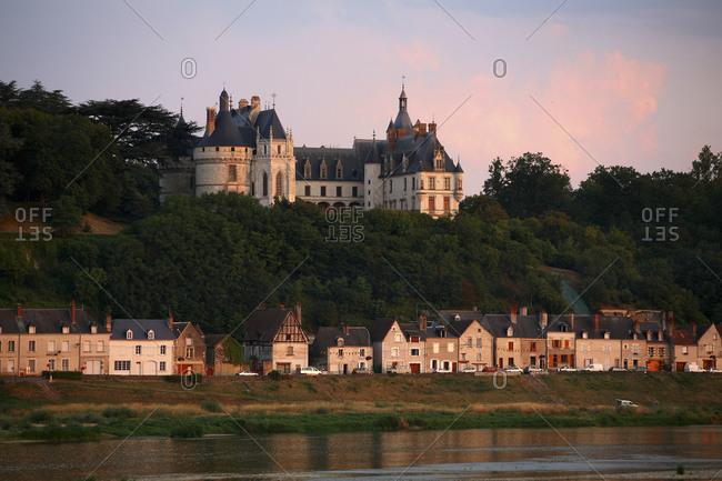August 5, 2000:  - August 5, 2000: France- Chaumont-sur-Loire- view to Chateau de Chaumont