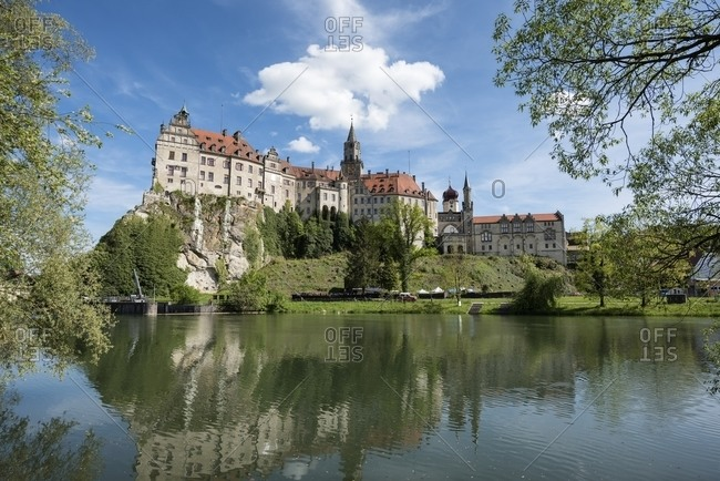 May 20, 2016:  - May 20, 2016: Germany- Baden-Wuerttemberg- Sigmaringen- Sigmaringen Castle and Danube river