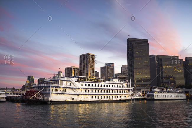 September 26, 2015:  - September 26, 2015: USA- California- San Francisco- Skyline at sunset