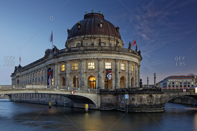 October 30, 2016:  - October 30, 2016: Germany- Berlin- Bode Museum at twilight