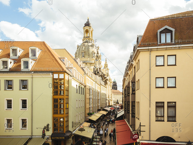 August 11, 2016:  - August 11, 2016: Germany- Saxony- Dresden- Cupola of Dresden Frauenkirche