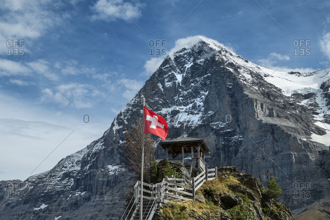 Switzerland- Canton of Bern- region Jungfrau- Eiger-