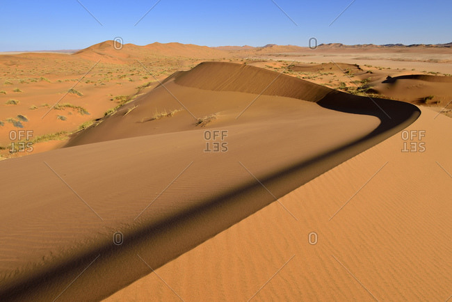 Namibia- Namib Naukluft National Park- Sand dunes of the Namib Desert along Kuiseb River