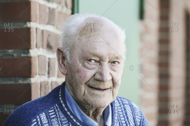 Germany- Portrait of senior man- smiling