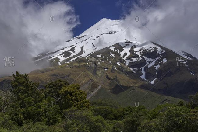 New Zealand- View of Mount Taranaki