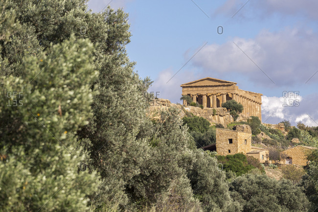 Temple of Concordia, Archaeological Site of Agrigento, Sicily, Italy