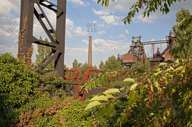 Landscape Park Duisburg-Nord, Ruhr region, North Rhine-Westphalia, Germany