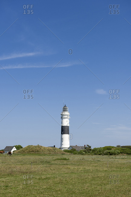 Lighthouse Kampen, Sylt, Schleswig Holstein, Germany