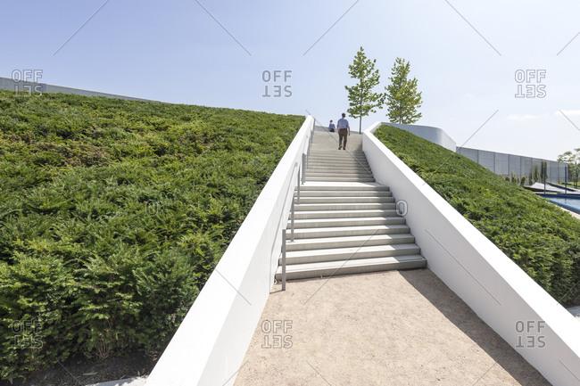 Landscape architecture, cityscape, IGS, Hamburg, Germany