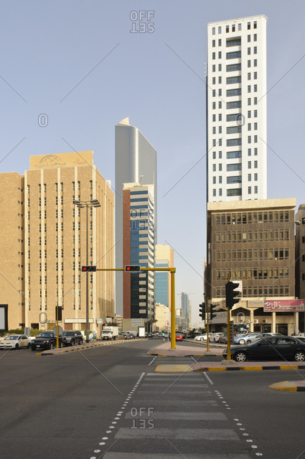 June 6, 2013: Downtown, Kuwait City, Arabian Peninsula, West Asia