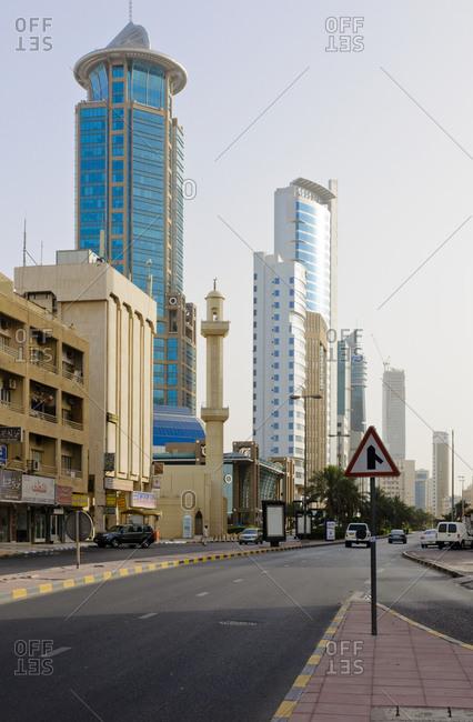 June 6, 2013: Downtown, Kuwait City, Arabian Peninsula, West Asia