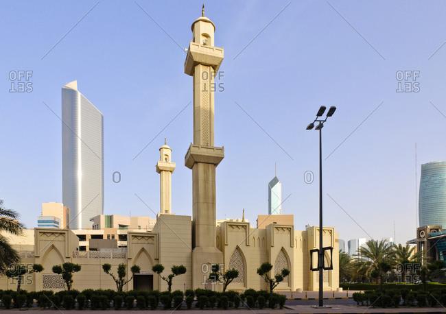 Mosque, Kuwait City, Arabian Peninsula, Western Asia