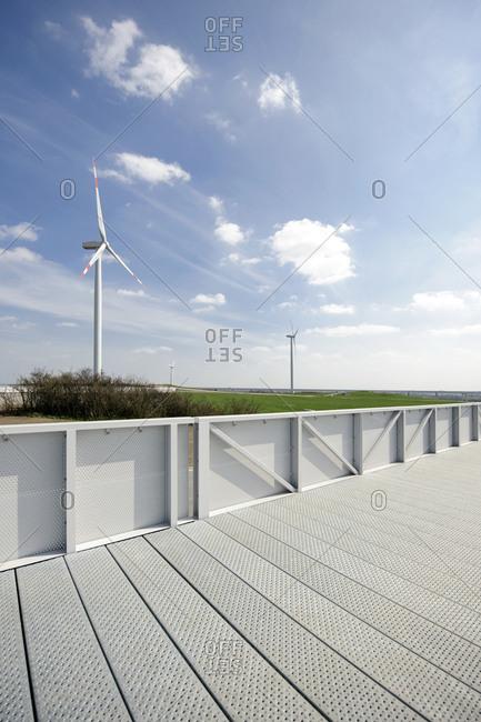 Footpath, Energieberg, Georgswerder, Hamburg, Germany