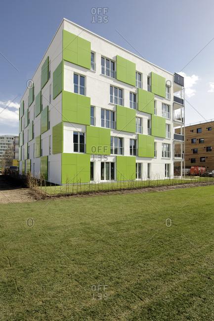 April 18, 2013: Smart Material House, IBA, International Building Exhibition, Wilhelmsburg, Hamburg, Germany