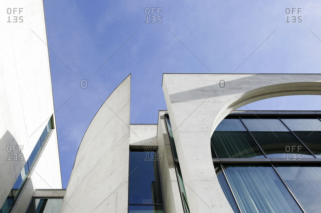 October 20, 2012: Marie-Elisabeth-Lders-Haus, government district, Berlin, Germany